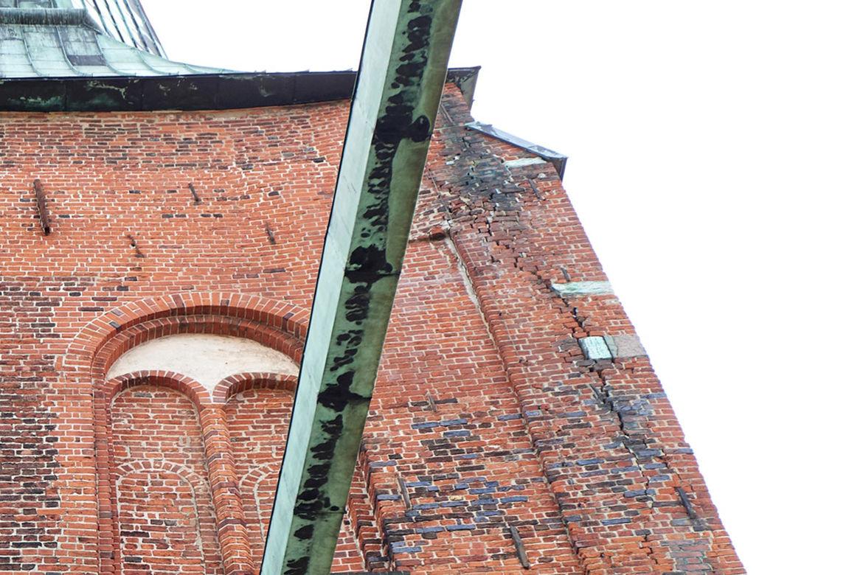 Risse Turm Dom Lübeck - Copyright: Carlos Blohm