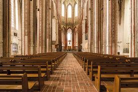 Blick zum Altar in der Marienkirche - Copyright: Dr. Karen Meyer-Rebentisch