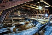 Dachstuhl mit Blick auf das Gewölbe von St. Jakobi - Copyright:  Andreas Schwiederski