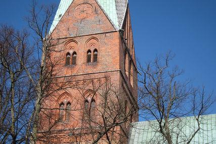 Sieben Predigt-Gottesdienste über lateinische Kirchenväter können Interessierte in  St. Aegidien erleben. - Copyright: Kirchenkreis Lübeck-Lauenburg