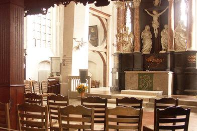 Altar in St. Aegidien