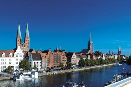 Lübeck Panorama-Fotografie - Ansicht von der MUK - Copyright: Olaf Malzahn